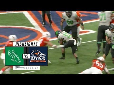 North Texas vs. UTSA Football Highlights (2018) | Stadium