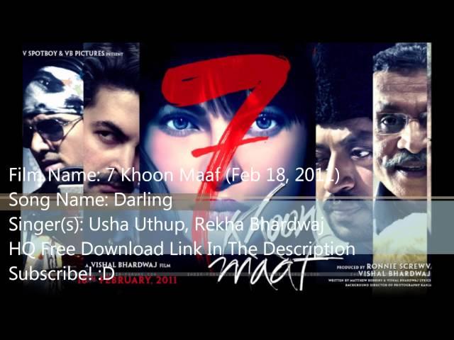 7 Khoon Maaf Full Movie Free Download In Mp4 Videos