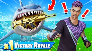 SHARK LOOT ONLY Challenge in Fortnite!