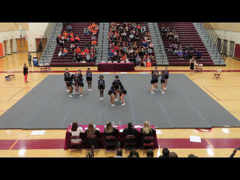 Lake Braddock Secondary School JV at Mountain View Cheer Competition 2019