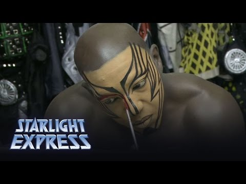 Make Up - Behind the Scenes | Starlight Express