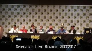 Spongebob Live Reading San Diego ComicCon 2017 - Almost Full Set!