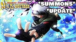 *DMS KAKASHI IS BACK UPDATE & SUMMONS* | Naruto X Boruto Ninja Voltage
