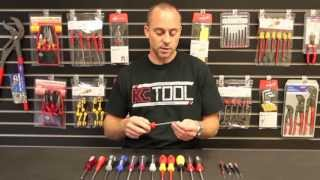 Wiha Tools, Wiha Screwdrivers Comparison by KC Tool and Review of 17 screwdriver styles