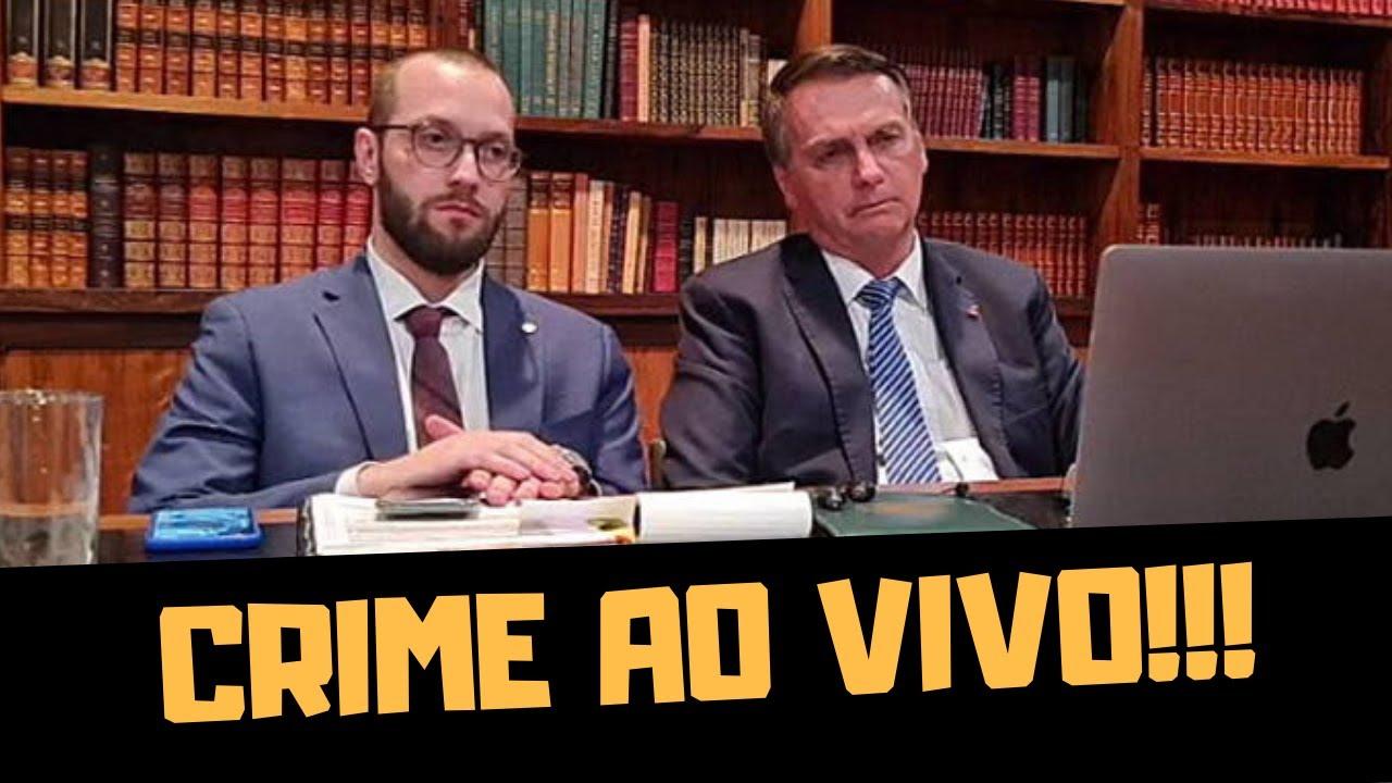 CRIME AO VIVO NA JOVEM PAN!!!