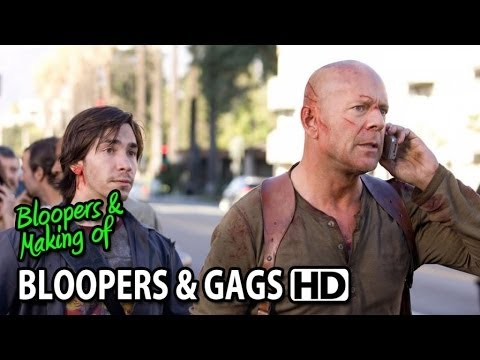 Live Free or Die Hard (2007) Bloopers Outtakes Gag Reel (Part2/2)