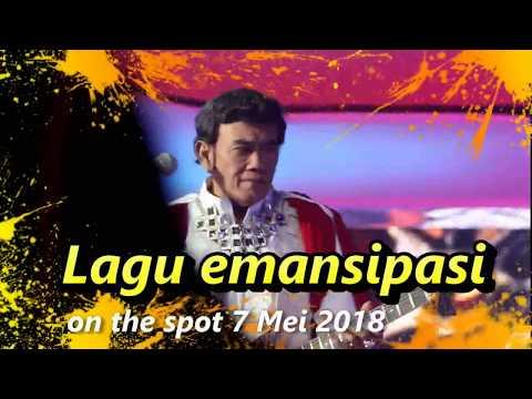 on the spot LAGU emansipasi wanita rhoma 7 mei 2018