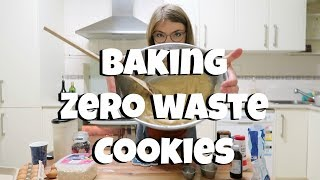 Baking Zero Waste Oatmeal Chocolate Chip Cookies // My Zero Waste Kitchen