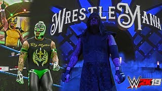 WWE 2K19: 5 Amazing Creations only on the PC version (Rey Mysterio SD 1000, Undertaker WM 29 etc.)