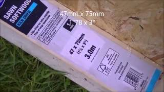 part 1 10 x 8 metal shed base assembly