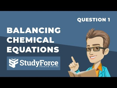 ⚗️ Balancing Chemical Equations (Question 1)