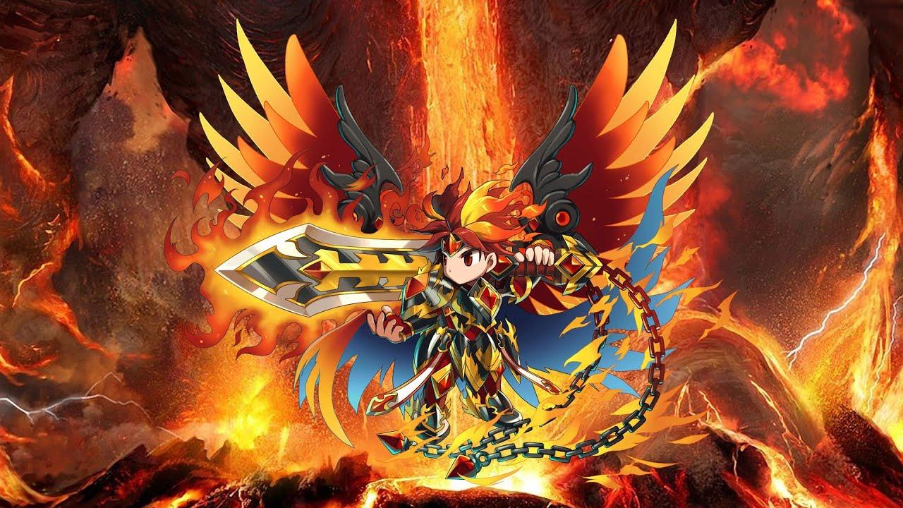 Harley Girl Wallpaper Brave Frontier Evolve Holy Flame Vargas Youtube