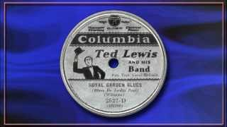 Ted Lewis (featuring Fats Waller) - Royal Garden Blues (1931)