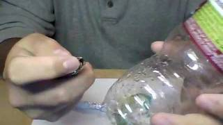 How To Make A Water Bottle Bong Ez!!!