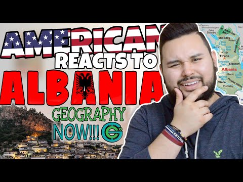 American REACTS // Geography Now! Albania
