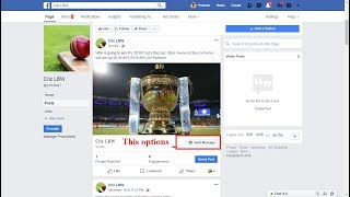 How To Add Send Message Button On Facebook Post