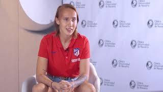 Virginia Torrecilla, futbolista del Atlético de Madrid lucha contra su tumor cerebral