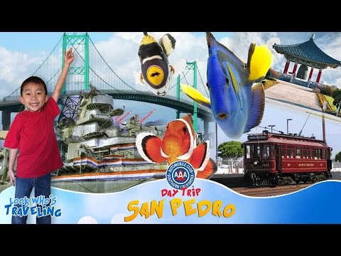 Things to do in San Pedro California (SoCal Auto Club Day Trip): Look Who's Traveling