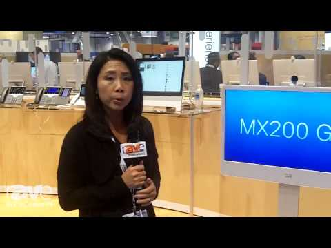 InfoComm 2014: Cisco Shows the MX Series of Room-based TelePresence Systems