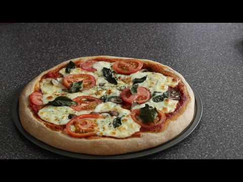 WHOLE WHEAT PIZZA CRUST RECIPE /Easiest Whole Wheat Pizza Crust Recipe