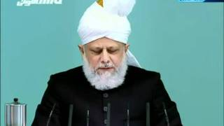 English Friday Sermon 28th January 2011   Islam Ahmadiyya clip1