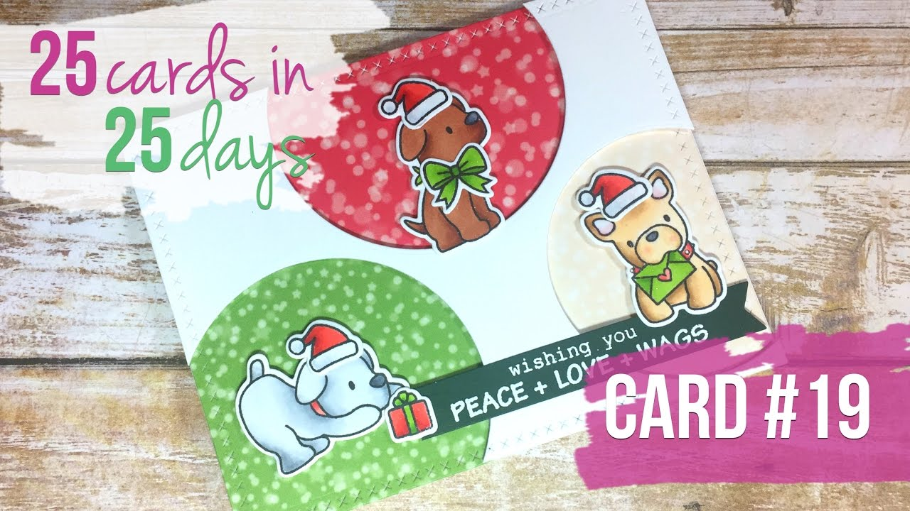25 Cards in 25 Days   Card #19   Mama Elephant and Lawn Fawn - YouTube