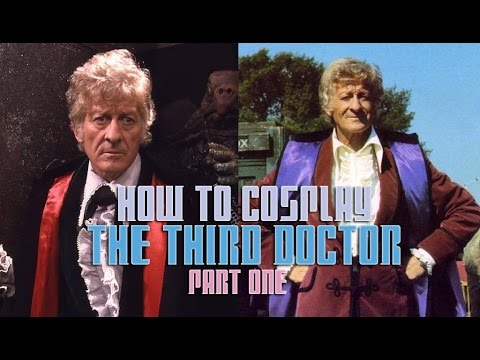 How to Cosplay the Third Doctor