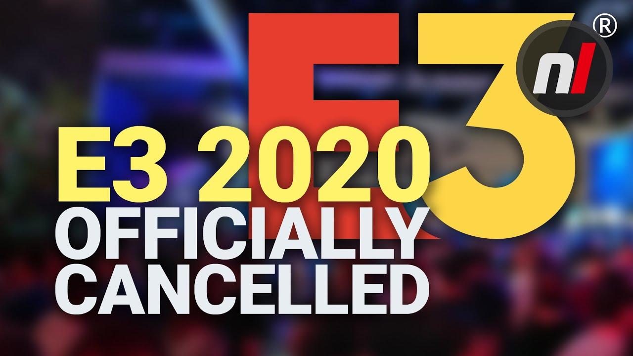 E3 2020 is canceled because of coronavirus