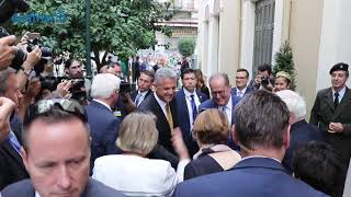 Στο δημαρχείο Καλαμάτας ο Γερμανός πρόεδρος
