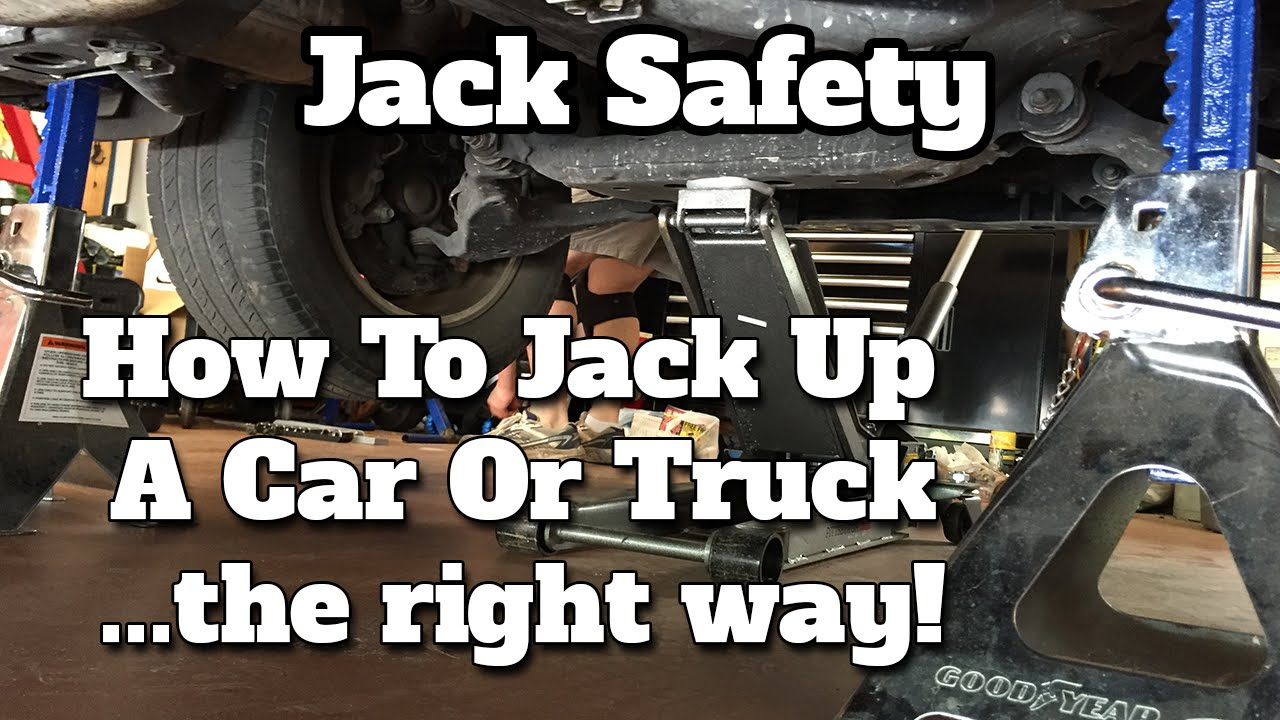 2016 Ram 1500 >> Jack Safety: How To Jack Up A Car Or Truck The Right Way - YouTube