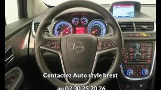 Opel mokka occasion visible à Brest présentée par Auto style brest
