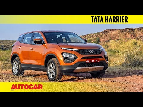Tata Harrier - In the Flesh I First Look I Autocar India
