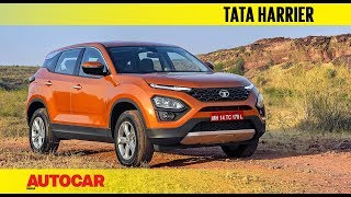 Tata Harrier - In the Flesh I First Look I Autocar India