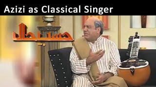 Azizi as Classical Singer | Hasb-E-Haal | 15 Feb 2015