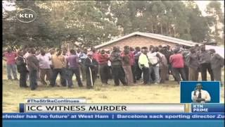 ICC ON YEBEI MURDER: DP William Ruto demand for answers over the death of ICC Witness