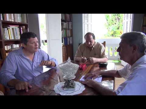 Jose A.  Alvarez en Casa del Pueblo Adjuntas Puerto Rico video por Jose Rivera