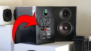 Make Bookshelf Speakers Active & Bluetooth! Dayton Audio WF60PA