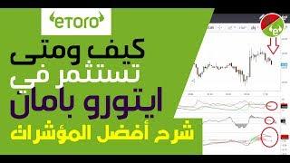 التحليل الفني forex   شرح إيتورو بالدارجة   شرح أفضل المؤشرات - eToro Maroc