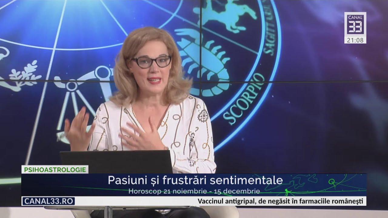 Pasiuni și frustrări sentimentale / Horoscop 21 nov - 15 dec cu Camelia Pătrășcanu