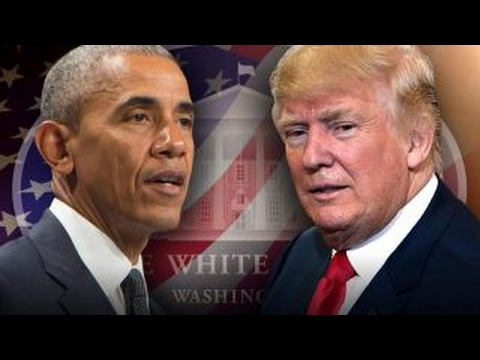 President Trump criticizes Obama