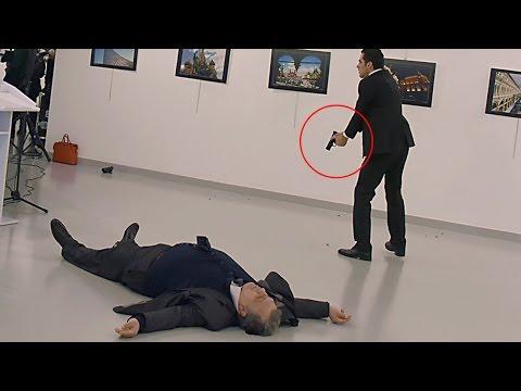 Russian Ambassador Shot On Live TV