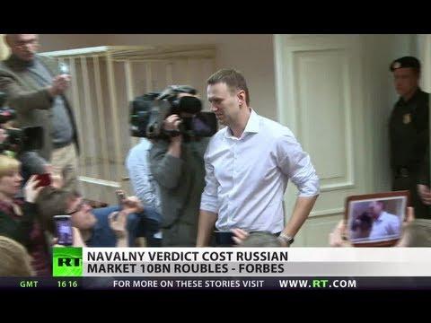 Navalny verdict turns money-losing for Russia
