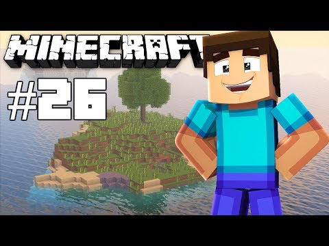 Failed portal connecting - Minecraft timelapse - Survival island III - Episode 26