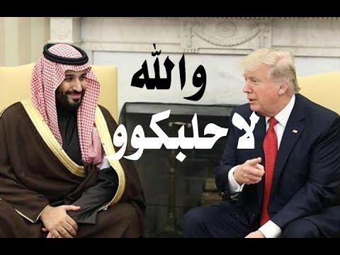 د.أسامة فوزي # 678 - عندما قال ترامب لال سعود : والله لاحلبكووووو