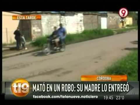Córdoba: una madre entregó a su hijo asesino