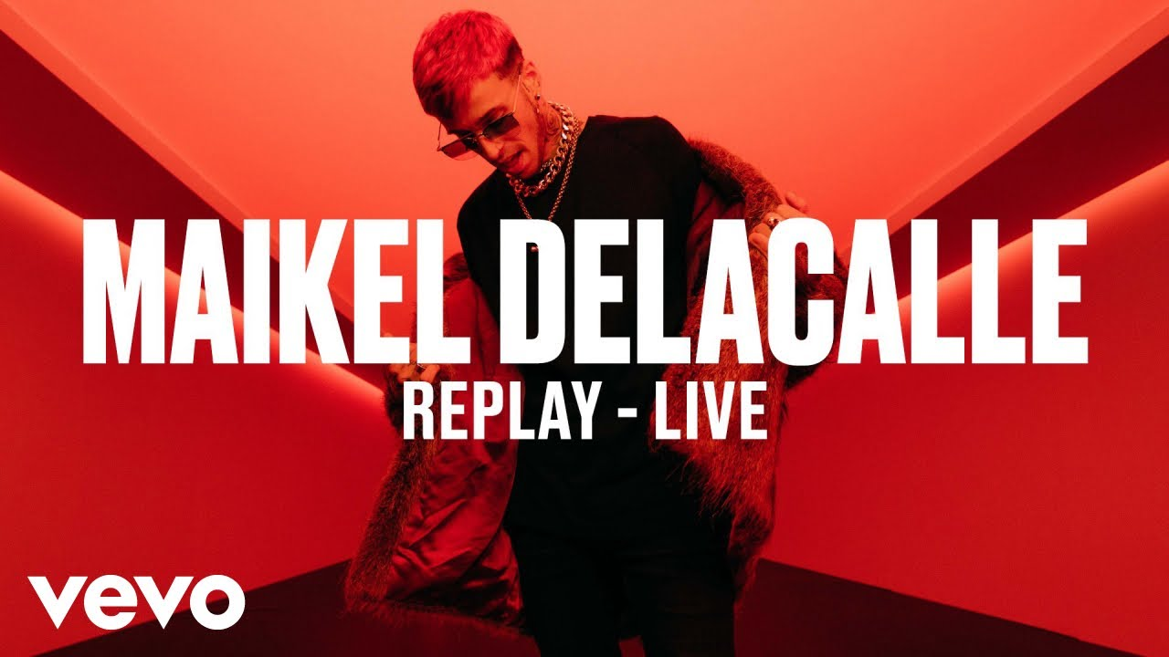 Maikel Delacalle — Replay (Live) | Vevo DSCVR