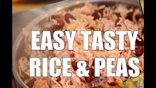Easy TASTY Rice & Peas - Sunday Dinner Tasty So Good NEW RECIPE Sunday Dinner