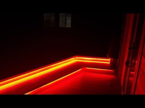 rgbw-led-strip-light-garden-cabin-project