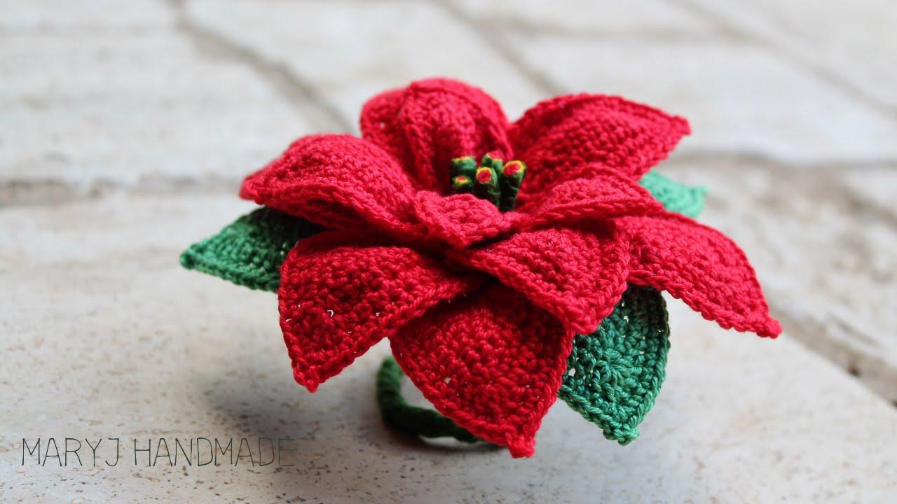 Stelle Di Natale Da Costruire maryj handmade: stella di natale all'uncinetto | how to