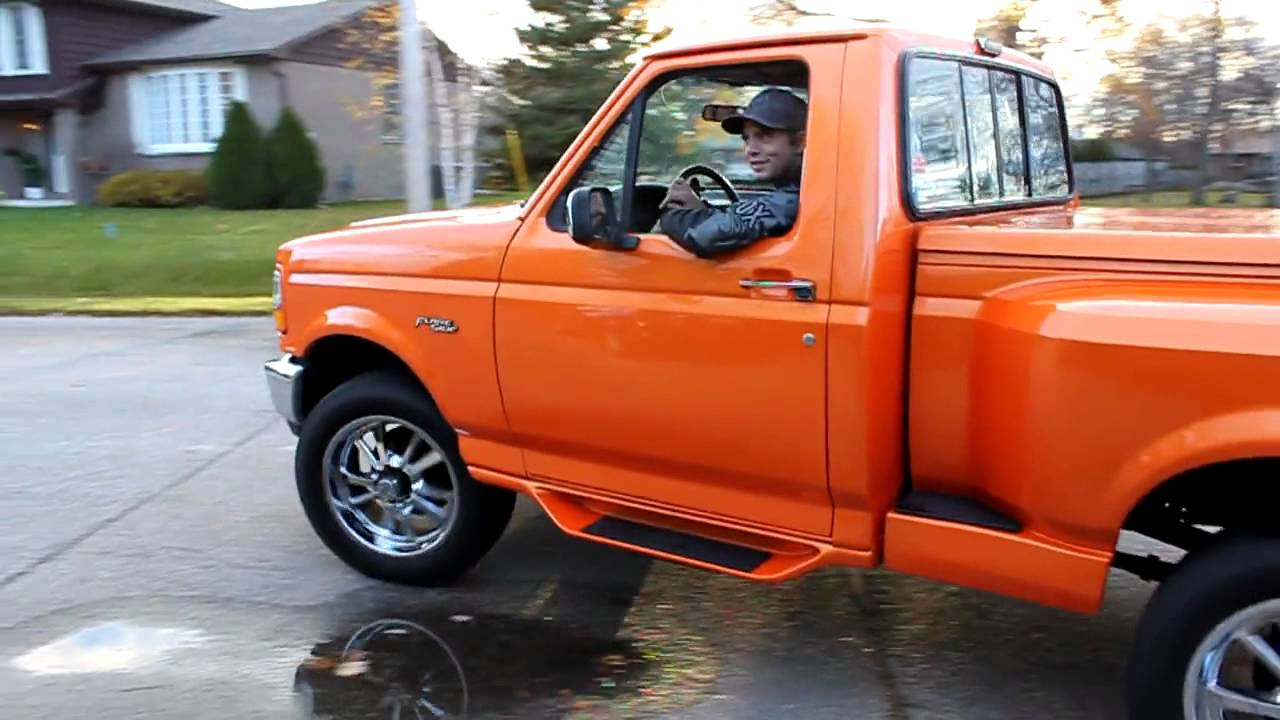 92 Ford F150 92 f-150 Flareside X306 - YouTube